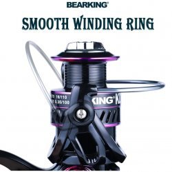 Безынерционная катушка Bearking KD4000