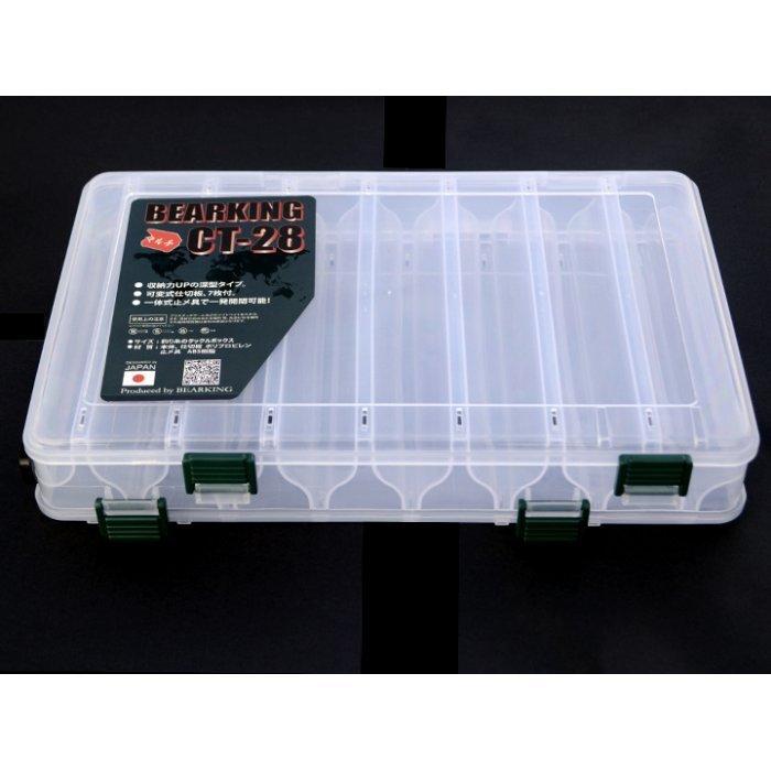 Коробка Bearking двухсторонняя CT-28 Белая