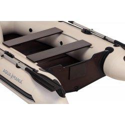 Надувная лодка Аква Мания АМК-270 светло серая