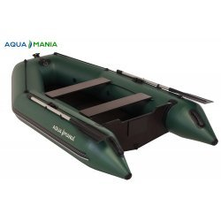 Надувная лодка Аква Мания АМК-290 зеленая