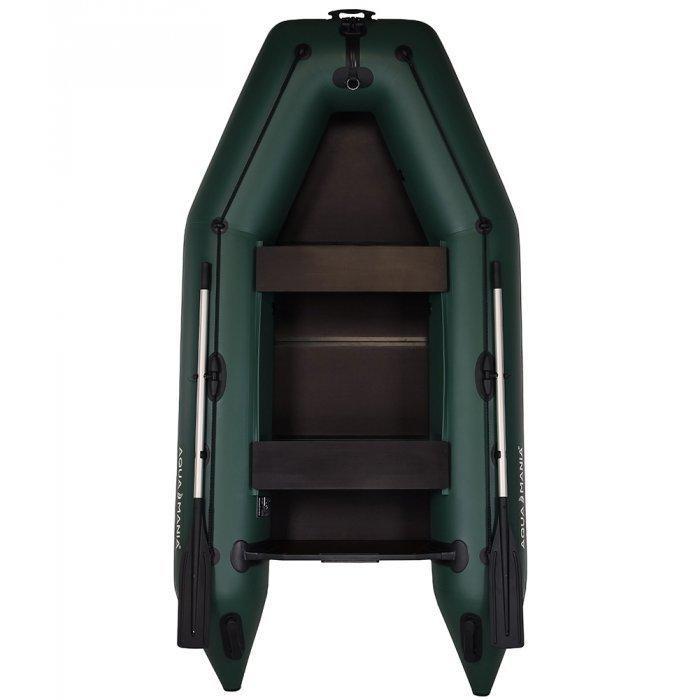 Надувная лодка Аква Мания АМ-290 зеленая