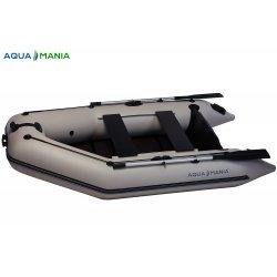 Надувная лодка Аква Мания АМ-270 светло серая