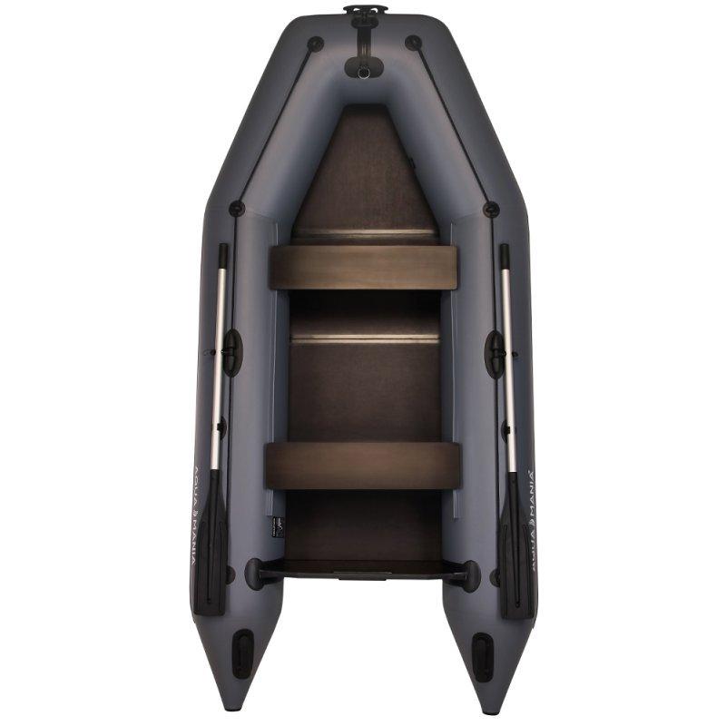 Надувная лодка Аква Мания АМ-330 темно-серый