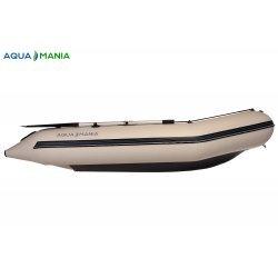 Надувная лодка Аква Мания АМК-290 светло серая