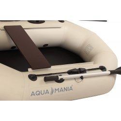 Надувная лодка Аква Мания А-190 светло серая