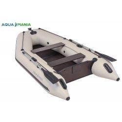 Надувная лодка Аква Мания АМ-290 светло серая
