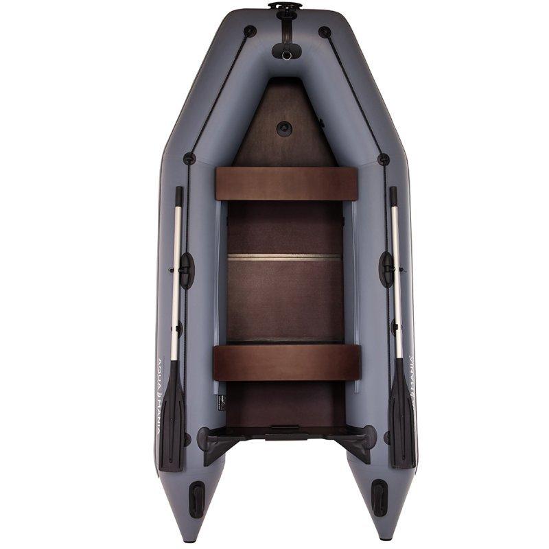 Надувная лодка Аква Мания АМК-330 темно-серый