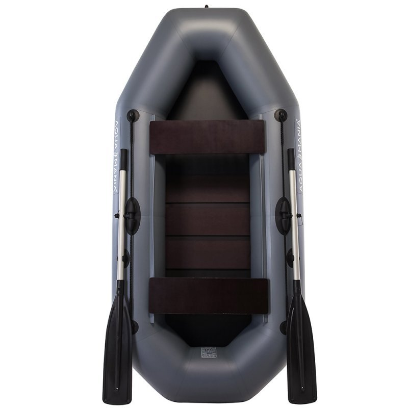 Надувная лодка Аква Мания А-230 темно-серый