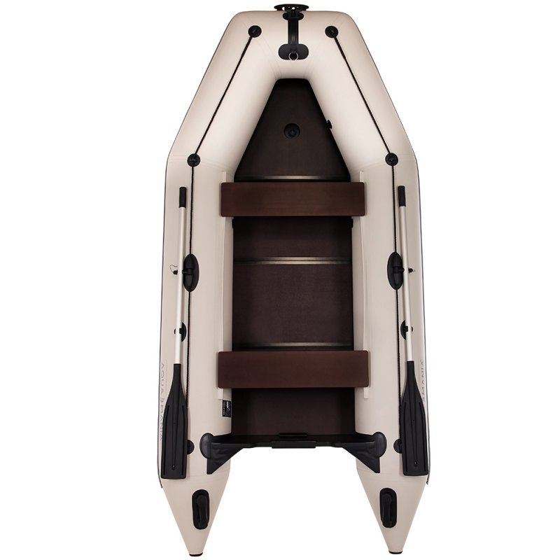 Надувная лодка Аква Мания АМК-330 светло серая