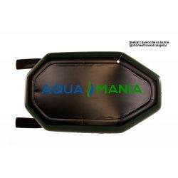 Надувная лодка Аква Мания А-210 зеленая