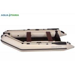 Надувная лодка Аква Мания АМ-330 светло серая