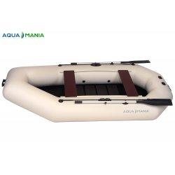 Надувная лодка Аква Мания A-300T светло серая