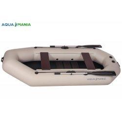 Надувная лодка Аква Мания А-280т светло серая