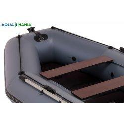 Надувная лодка Аква Мания АМК-270 темно-серый