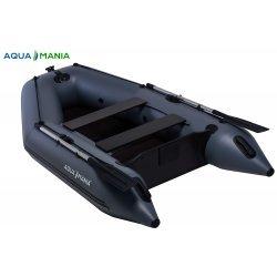 Надувная лодка Аква Мания АМ-270 темно-серый