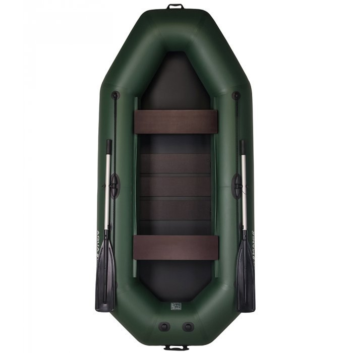 Надувная лодка Аква Мания А-280т зеленая