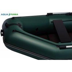Надувная лодка Аква Мания АМ-270 зеленая