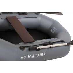 Надувная лодка Аква Мания А-190 темно-серый