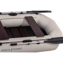 Надувная лодка Аква Мания А-230 светло серая